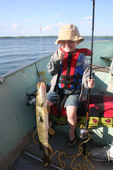 Whiteshell Lake Resort fishing