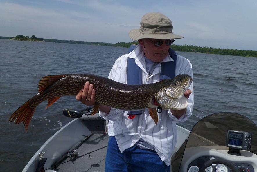 Whiteshell Lake Resort fishing